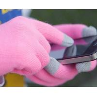 Buy cheap Fashionable Knitted Touch Gloves for iPhone/iPad and iTouch, Made of Mixed Fabric product