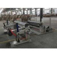 Buy cheap Abrasion Resistant Paper Cutting Machine , 1600C Paper Roll Slitter Rewinding Machine product