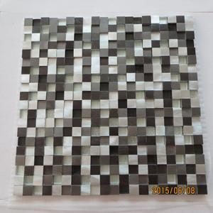 Buy cheap ガラスが付いているアルミニウム プロフィールのモザイク・タイル product