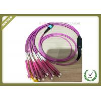Buy cheap Custom Length Fiber Optic Patch Cord For Communication Exchange System from wholesalers