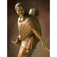 Durable Fine Art Bronze Cupid Stand Christmas gifts