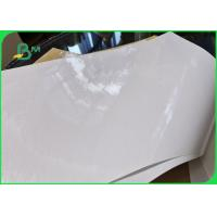 Buy cheap 40g Eco Friendly PE Coated Food Grade Paper Roll / White Kraft Paper Board For Lunch Box product