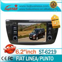 China Car Mp3 Player / Car Stereo / GPS / IPOD FIAT DVD Player For FIAT Linea Punto ST-6219 on sale