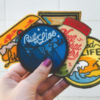 Buy cheap Travel Embroidery Custom Velcro Patches Laser Cutting Hook And Loop product