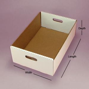Buy cheap Galletas cocidas de la comida de la caja de torta que empaquetan la caja de la bandeja product