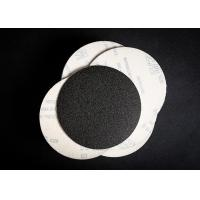 China Silicon Carbide 6 Inch Heavy Paper Disc Velcro / Hoop & Loop Sanding Discs wholesale