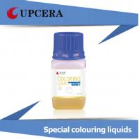 Buy cheap Orange Dental Zirconia Blocks Coloring Liquid 20ML / 50ML / 100ML Less impact product