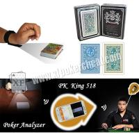 Buy cheap Poker Cheat Device Gambling Props Bar Code Marked Plastic Playing Cards For Texas Poker product