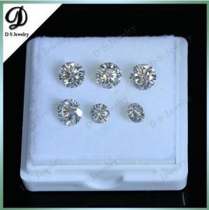 Buy cheap Diamante redondo do CT Moissanite da cor branca por atacado 1 do GH product