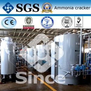Alto certificado del SGS de la BV del CE de la producción del hidrógeno del amoníaco líquido de la seguridad que se agrieta