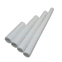 Buy cheap high precisionPP wound 5 micron 10 20 30 40 50 inch wire string sediment water filter product