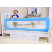 Buy cheap Baby Products 1.8m Mesh Home Folding Bed Rail Security , Non - Sharp Corner Design product