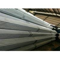 High Zinc Coating Gi Pipes Or Galvanised Steel Tube With American Or British Threads And Plastic Caps