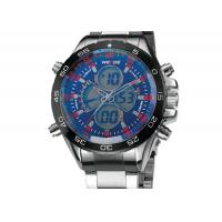 Buy cheap Vogue Big Face Mens Military Watches Double Movement With Chronograph product