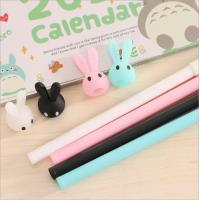 Buy cheap Flexible with different cute animal rubber ballpoint pen from china factory product