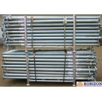 Buy cheap Slab Post Shoring Adjustable Scaffolding Prop Q345 Steel Pipe For Formwork Supporting from wholesalers