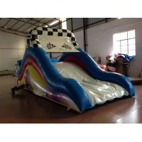Buy cheap Small Size Inflatable Dry Slide 5-7 Children Capacity / Kids Bouncy Castle With Slide product