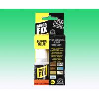 Buy cheap 20 Gram Mega FIX Strongest Super Glue Industrial Strength Adhesive in Plastic Bottle product