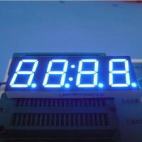 Buy cheap 0.8 Inch 4 Digit Seven Segment Display Ultra Bright Blue Stable Performance product