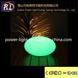 China 20cm Waterproof Floating Pool Stone Light Led Oval Lamp on sale