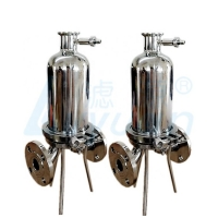 Buy cheap Clamp Triclover SUS304 200mm Cartridge Filter Housings product