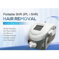 Buy cheap Portable IPL Laser Hair Removal Machines SHR OPT System / Facial Rejuvenation Equipment product