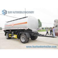 China International DoubleFull Axle 15000L Oil Tank Trailer Or Chemical Liquid on sale