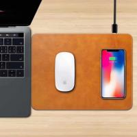 Buy cheap Apple mouse pad with wireless charger, wireless charging base for Iphone 8(plus)/X, Iphone X wireless charging base product