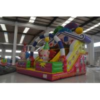 Buy cheap Classic inflatable circus clown dry slide PVC inflatable clown slide funny clown inflatable standard dry slide product