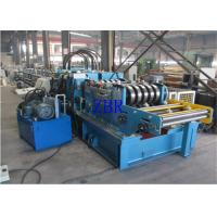 Buy cheap SGS CZ Purlin Roll Forming Machine Dual Holes Punching 11 MPa Work Pressure from wholesalers