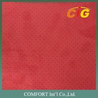 China 100% polyester 150cm width 130gsm suede fabric for sofa seat cover / car seat upholstery fabric on sale