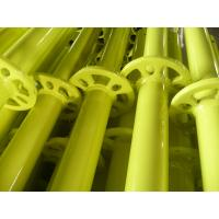 Buy cheap Ringlock scaffolding standard yellow powder coated product