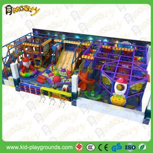 Buy cheap Qualidade excelente com grupo plástico do jogo da corrediça das crianças do certificado do CE, o melhor centro de jogos interno product