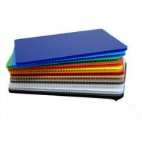 Buy cheap High Strength Light Weight Polypropylene Hollow Sheet Correx Board For Industrial / Packing product