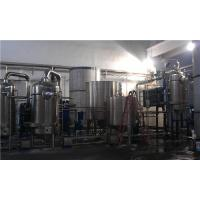 Buy cheap Automatic Forced Circulation Climbing Film Evaporator Fit Multi Effect Evaporation Plant product