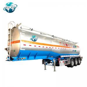 Buy cheap 3 axle Oil/Fuel/Diesel/Gasoline/Crude/Water/Milk Transport Steel Tank Semi Trailer product