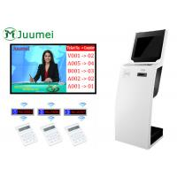 Buy cheap Internal Kiosk Queue Management System Free Standing Use In Bank product