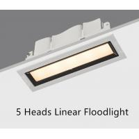 China Recessed 5 Heads Linear Downlights Floodlight 10.5W LED wholesale