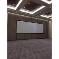 Buy cheap HD Customized Fixed Frame Projector Screen Shrot Throw With Black Velvet product