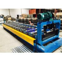 Buy cheap Hydraulic Pressure Roof Panel Roll Forming Machine With 13-16 Stations Roller product
