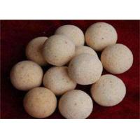 Buy cheap 1900 Degree Size 40,50,60 Refractory Ball For Hot Blast Stove , High Temperature Resistance product
