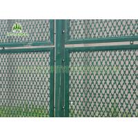 Buy cheap Hot Dipped Galvanized Welded Razor Blade Wire Mesh 2m Height For Bridges Safety product
