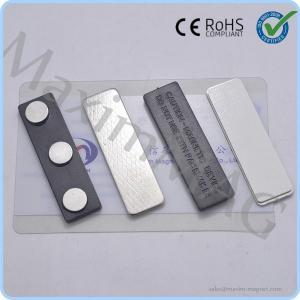Buy cheap Горячие продавая пластиковые магнитные чехлы для бейджа с 3 магнитами неодимия диска from wholesalers
