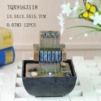 Buy cheap Customized Polyresin Tabletop Water Fountains With Lights Color Changing product