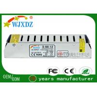 China High Power 12V 5A LED Strip Power Supply With Constant Current LED Driver on sale