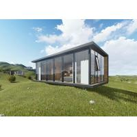 China Cosy Luxury Modern Prefab Houses Sound Insulation Prefab Mobile Homes on sale