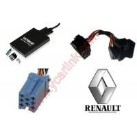Buy cheap Digital MP3 USB SD interface adapter changer for Renault quadlock 12pin 2009+ product
