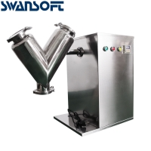 Buy cheap Swansoft VH-8 High Speed Seasoning Mixer Machine/V Type Powder Mixer Mixing Machine blender for pharmaceutical food product