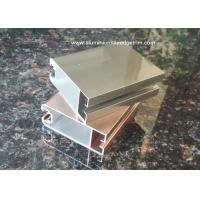 Buy cheap Durable Aluminium Door Frame Profile With Electrophoresis Surface treatment product