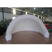 Buy cheap Light Weight Inflatable Advertising Tent , Outdoor Mobile Event Air Blow Up Tent product